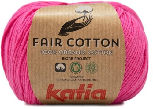 Fair Cotton Sommertop Strickpaket 1 38/40 Pink
