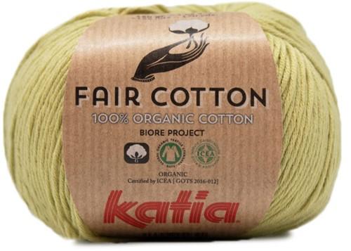 Fair Cotton Sommertop Häkelpaket 1 38/40 Pistachio
