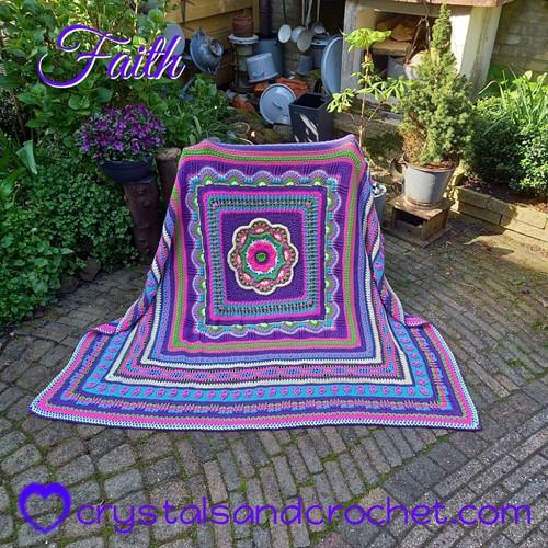 Faith Blanket CAL Garnpaket 1 Confidence Special DK