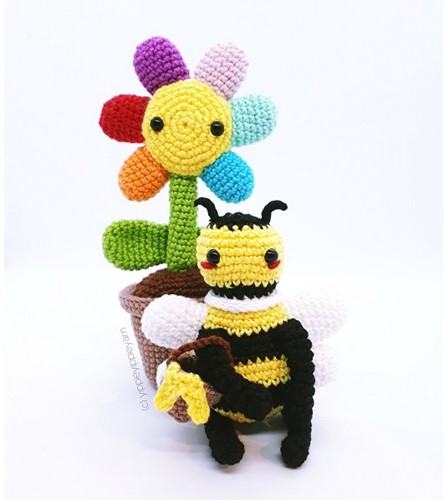 Häkelanleitung Fienchen und Bienchen
