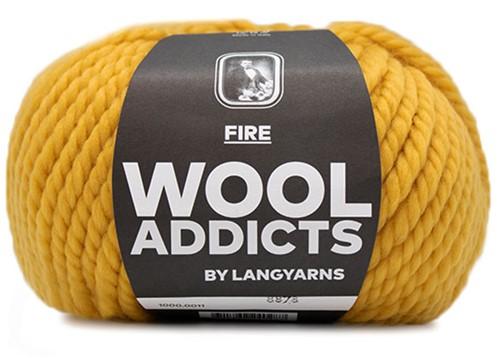Wooladdicts Savage Saffron Mütze Strickpaket 11
