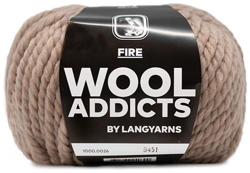 Wooladdicts Savage Saffron Mütze Strickpaket 2
