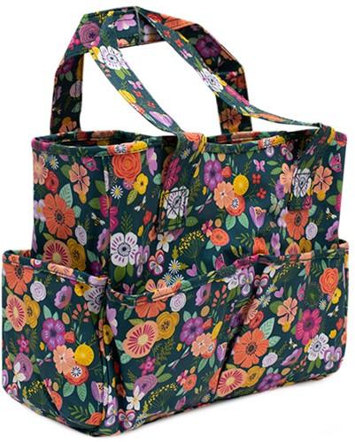 Hobbytasche Floral Garden Teal