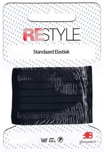 Restyle Standard Gummiband 10m/4,5mm schwarz