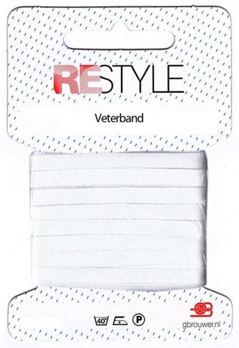 Restyle Durchziehlitze 5m/5mm (100% Baumwolle)