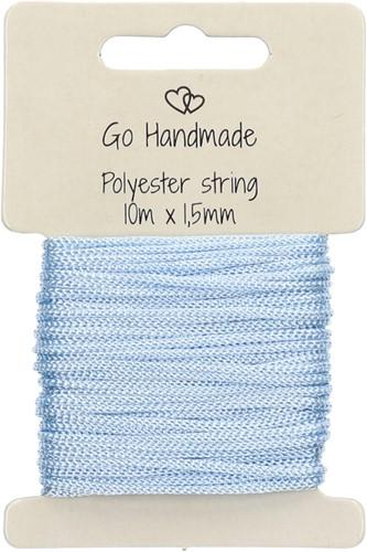 Go Handmade Polyester Korder 5 Blau