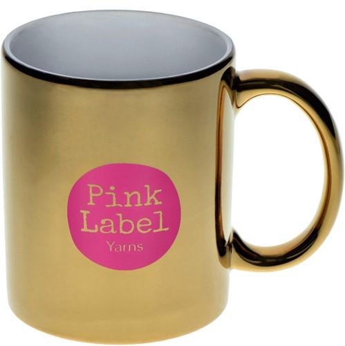 Pink Label Tasse