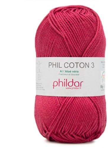 Phildar Phil Coton 3 2144 Framboise