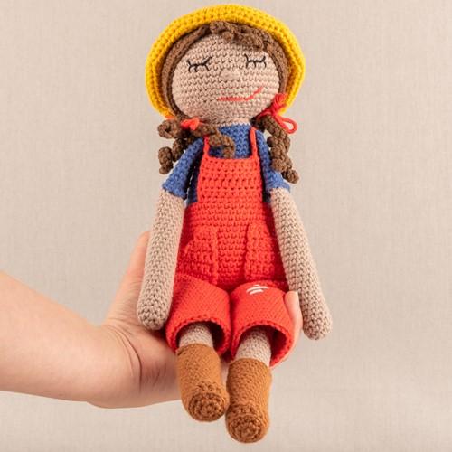 Häkelanleitung Yarn and Colors Freddy/Francine Farmer