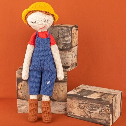 Yarn and Colors Freddy/Francine Farmer Häkelpaket 002 Cream