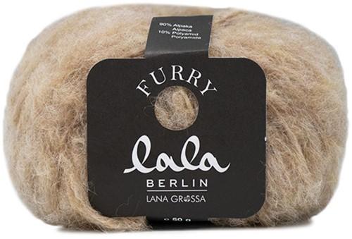 Lala Berlin Furry Pullover Strickpaket 1 40/42 Beige