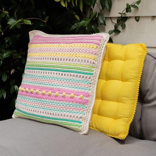 Häkelanleitung Yarn and Colors Garden Party Cushion