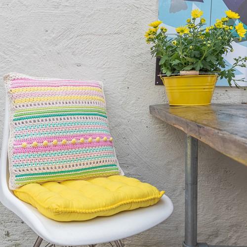 Yarn and Colors Garden Party Cushion Häkelpaket