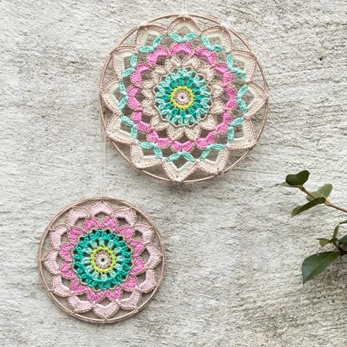 Häkelanleitung Yarn and Colors Garden Party Mandala