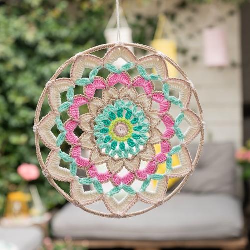 Yarn and Colors Garden Party Mandala Häkelpaket