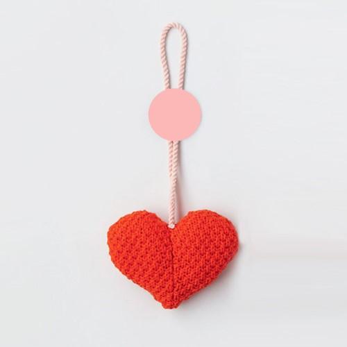 Strickanleitung Herz