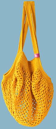 Joly Bag Häkelpaket 2 Ockergelb