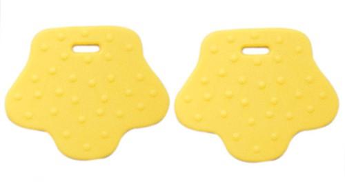 Beißringe Tierpfoten 2 Gelb