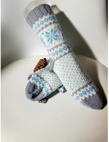Strickanleitung Icewinter Socken