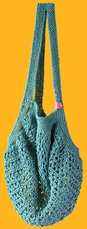 Joly Bag Strickpaket 5 Meergrün