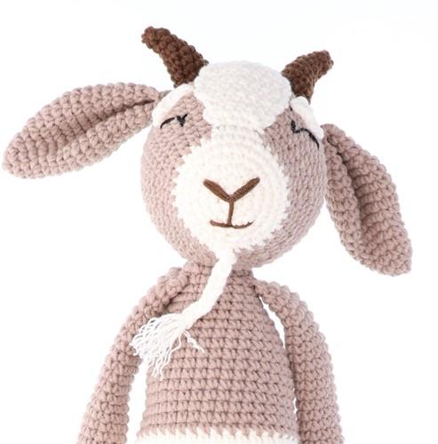 Häkelanleitung Yarn and Colors Gus Goat