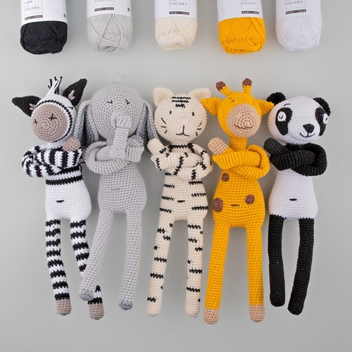 Yarn and Colors Zoo-Animals Häkelpaket
