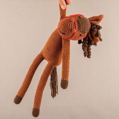 Häkelanleitung Yarn and Colors Hank Horse