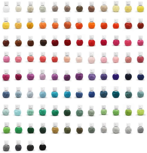 Yarn and Colors Must-Have Minis 100 Farben Paket