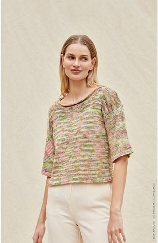 Strickanleitung Ecopuno Hand-Dyed Pullover