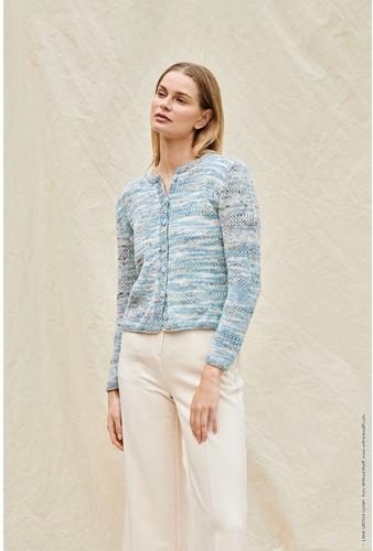 Strickanleitung Cool Wool Hand-Dyed Jacke