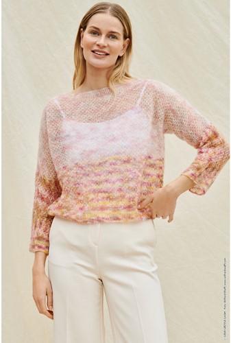 Strickanleitung Silkhair Hand-Dyed Pullover