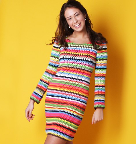 Häkelanleitung Ibiza Kleid