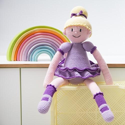 Ballerina Sofie Puppe Häkelpaket