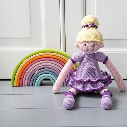 Häkelanleitung Ballerina Sofie Puppe