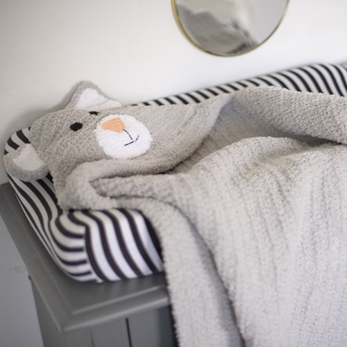 Häkelanleitung Wollplatz Babydecke Katze