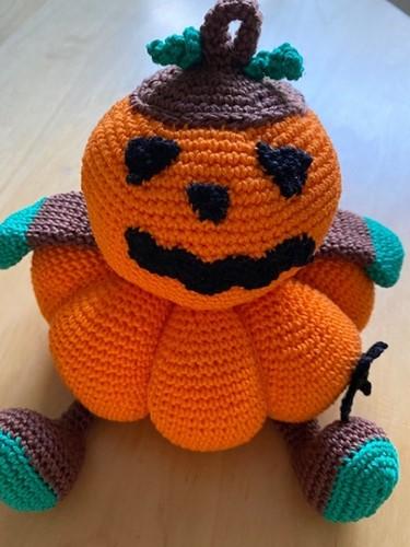 Häkelanleitung Mr. Pumpkin