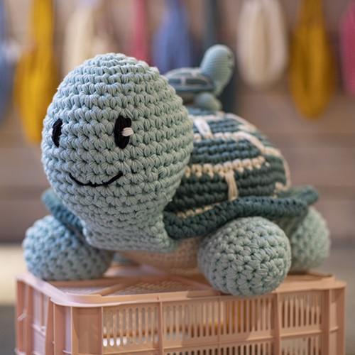Meeresschildkröte Joly XXL Häkelpaket