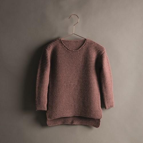 Creative Soft Wool Aran Kinderpullover Strickpaket 2 134/140