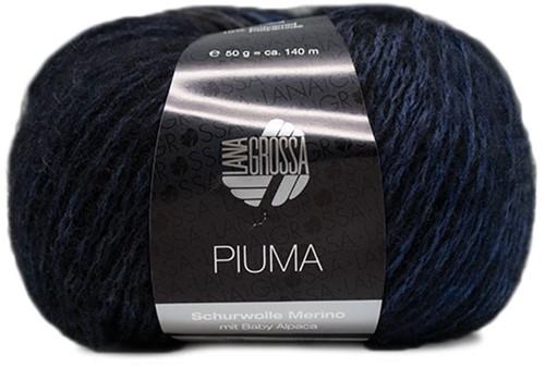Piuma Zopfjacke Strickpaket 2 40/42 Jeans / Marine / Grey / Black