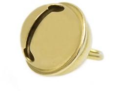 Glöckchen 15mm Gold