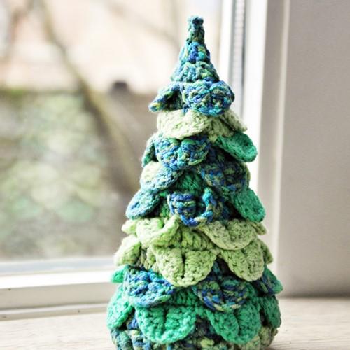 Häkelanleitung Weihnachtsbaum