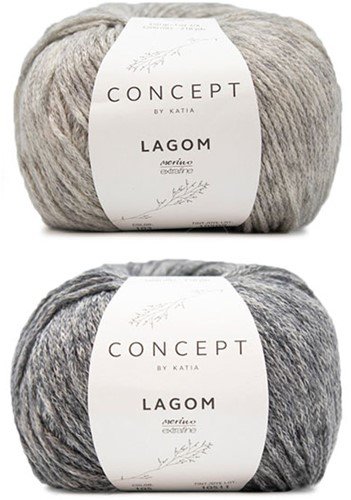 Lagom Reliefpullover Strickpaket 1 XL