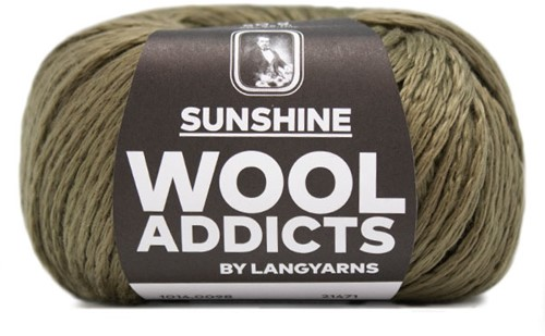 Wooladdicts Glow-Getter Pullover Strickpaket 10 M Olive