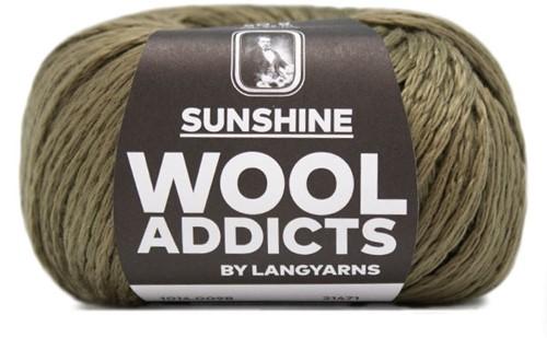 Wooladdicts Radical Romancer Top Strickpaket 10 M Olive