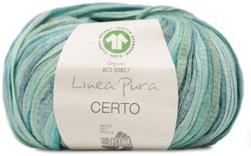 Certo Print Pullover Strickpaket 1 36/38 Grey-Green / Jade / Grey-Blue / Nature