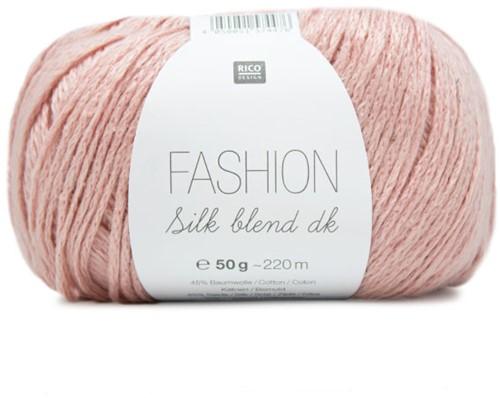 Fashion Silk Blend dk Pullover Strickpaket 1 40/42 Powder