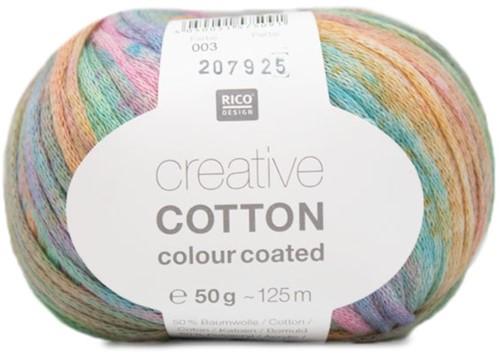Creative Cotton Colour Coated Vest Strickpaket 1 44/46 Pastel Mix