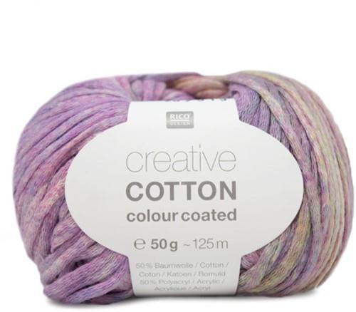 Creative Cotton Colour Coated Top Strickpaket 1 40/42 Lila Mix