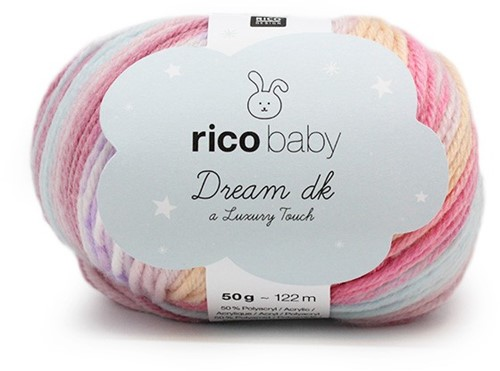Rico Dream Babypullover Strickpaket 1 - 86/92