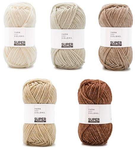 Yarn and Colors Degrade WOW! Wandschmuck Paket 002